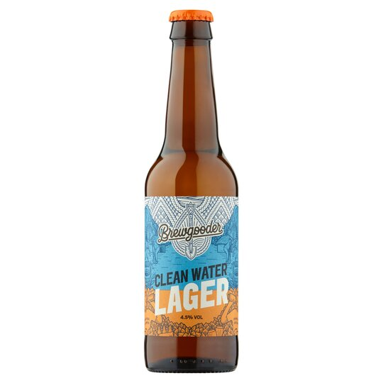 Brewgooder Clean Water Lager 330Ml