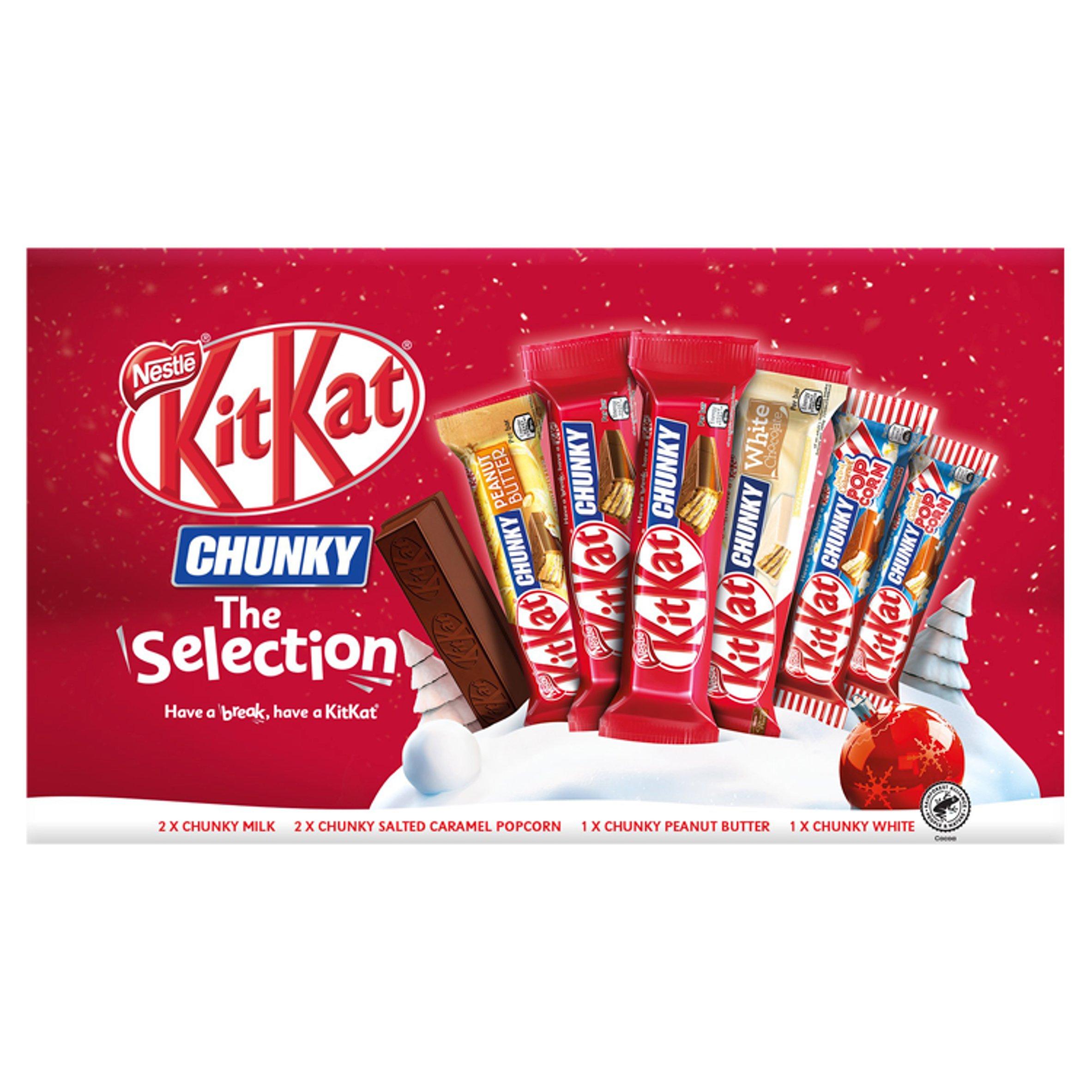 Kit Kat Chunky Chocolate Selection Box 221.5G