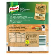 image 3 of Knorr Thick Vegetable Dry Soup 75G