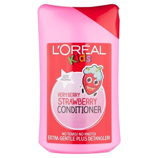 L'oreal Kids Berry Strawberry Conditioner 250Ml
