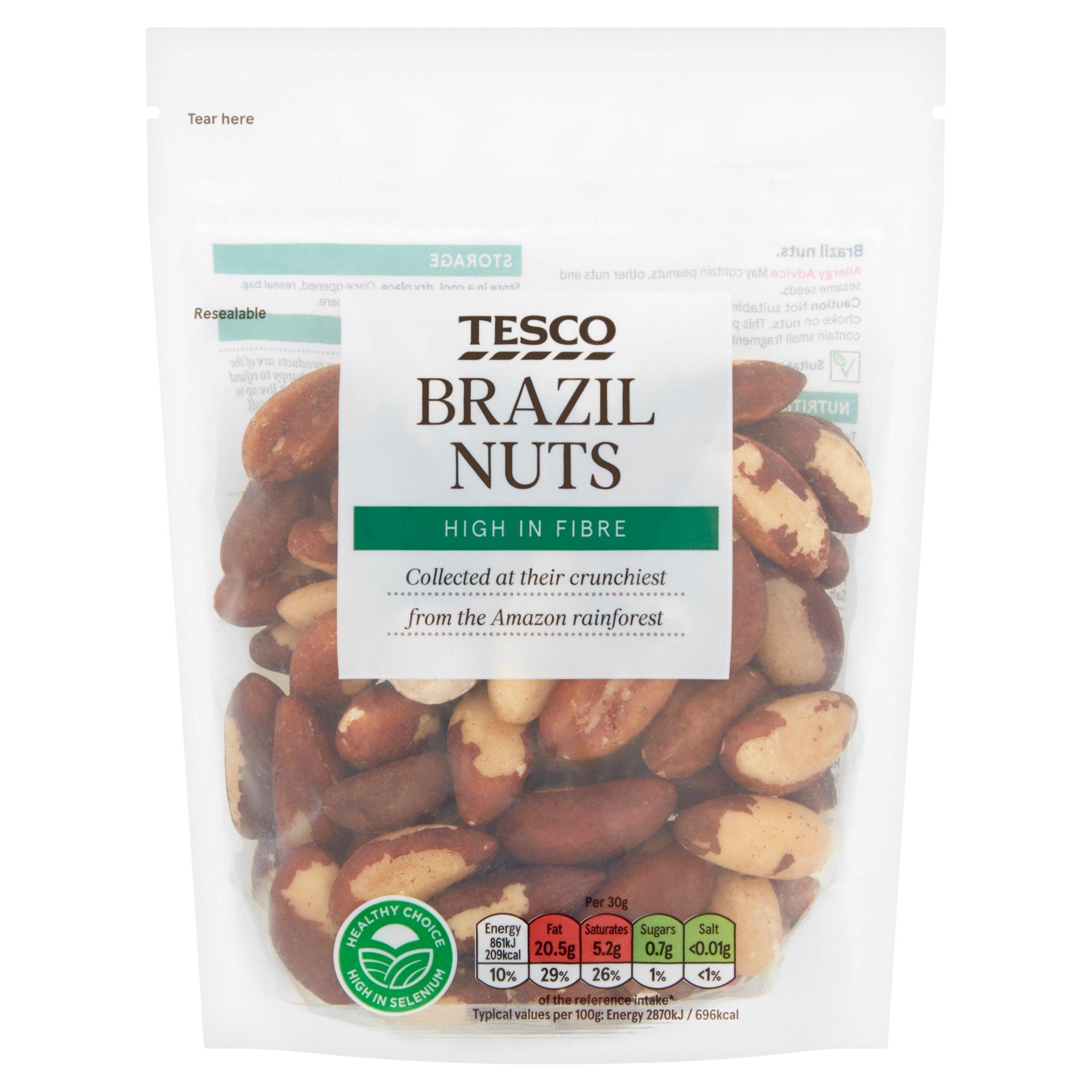 Tesco Brazil Nuts 200G
