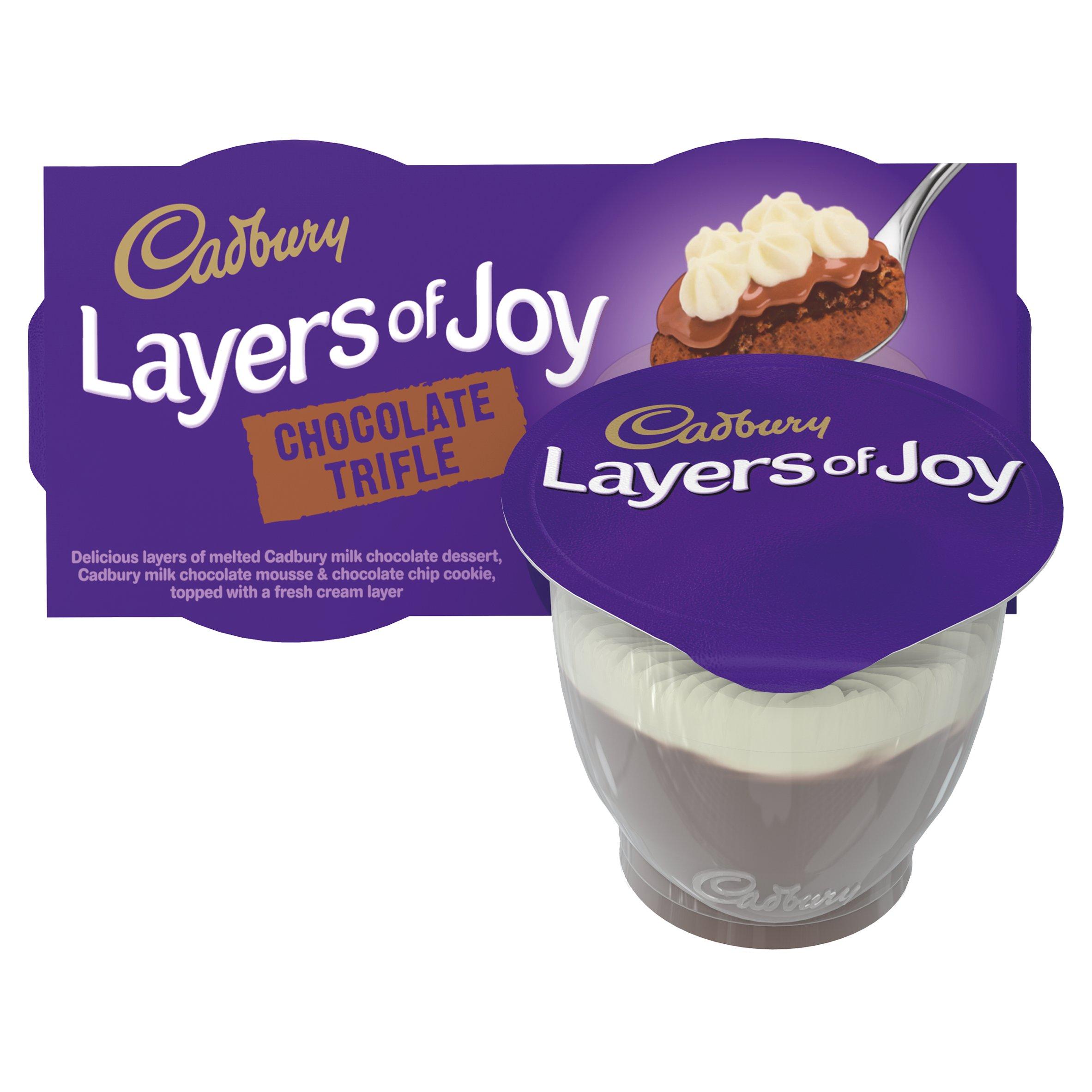 Cadbury Layers Of Joy 2 Pack Chocolate 2X90g