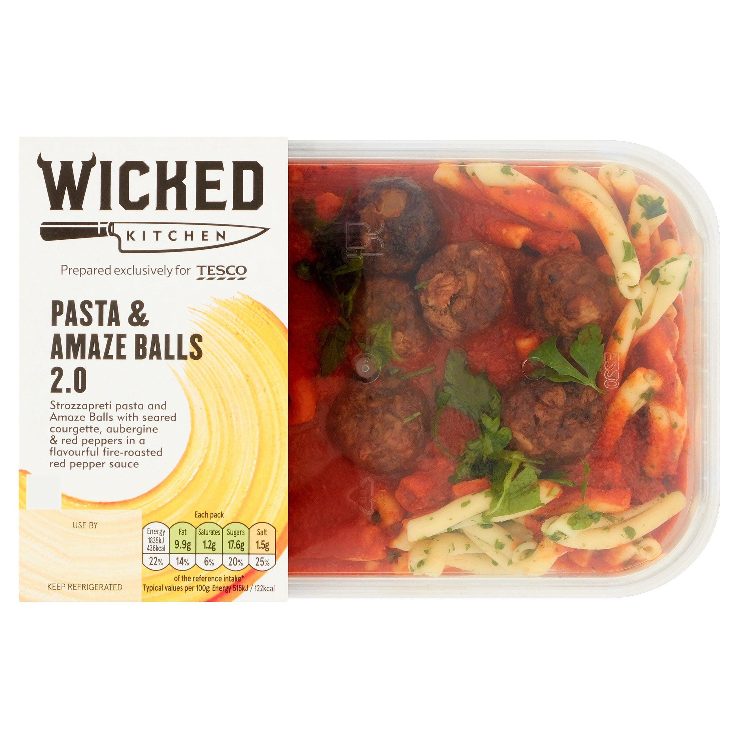 Wicked Kitchen Pasta & Amaze Balls 2.0 380G