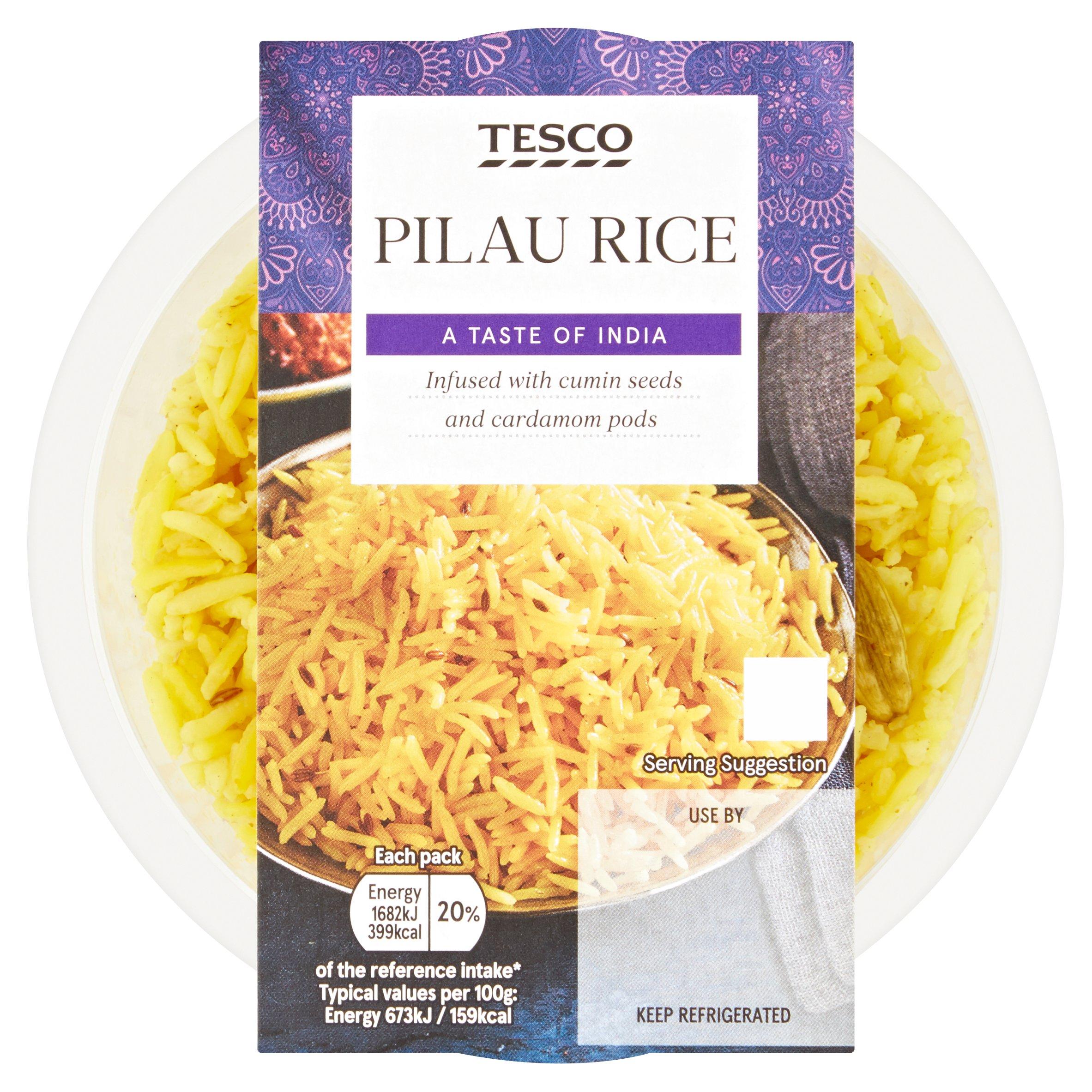 Tesco Pilau Rice 250G