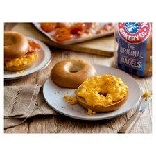 image 2 of New York Bakery Plain Bagels 5 Pack