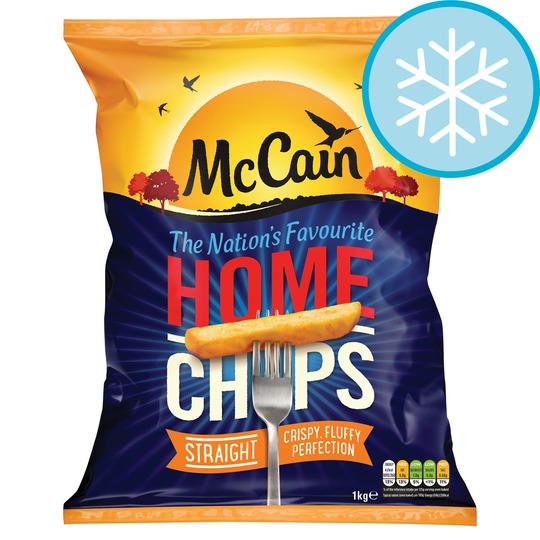 Mccain Home Chips Straight Cut 1Kg