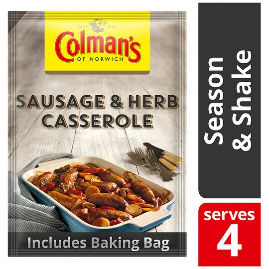 Colman's Season & Shake Sausage & Herb Casserole Mix 40G