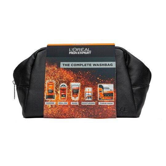 image 1 of L'oreal Men Expert Complete Christmas Wash Bag Giftset