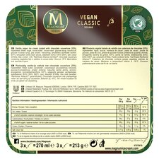 image 2 of Magnum Vegan Classic Ice Cream 270Ml