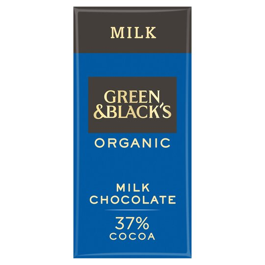 Green & Blacks Organic Milk Chocolate 90G