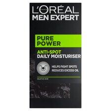 image 1 of L'Oreal Men Expert Pure Power Moisturiser 50Ml
