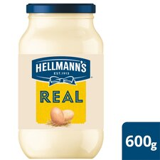 image 1 of Hellmann's Real Mayonnaise 600G Jar