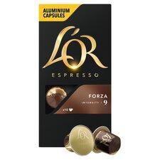 image 2 of L'Or Espresso Forza 10 Capsules 52G
