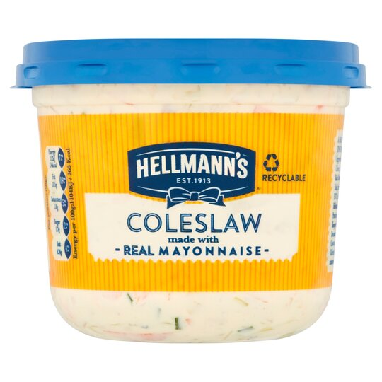 Hellmann's Coleslaw With Real Mayonnaise 250G