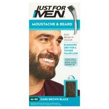 image 1 of Just For Men Brush-In Colour Gel Dark Brown