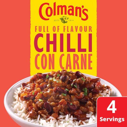 image 1 of Colman's Chilli Con Carne Recipe Mix 50G
