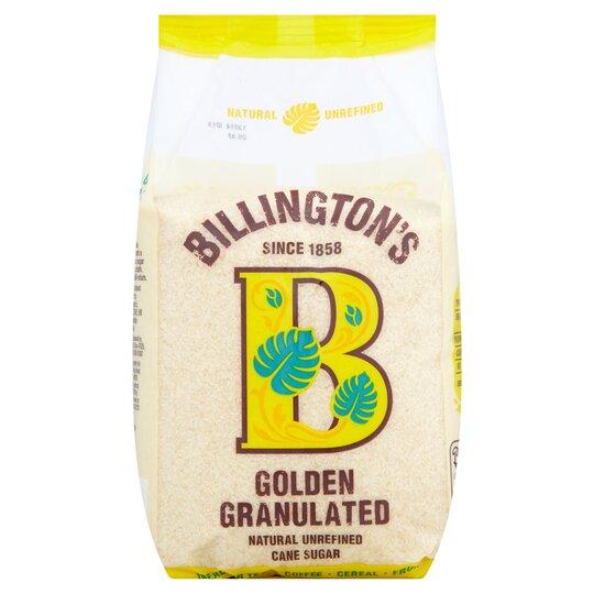 image 1 of Billington's Golden Granulated Sugar 1Kg