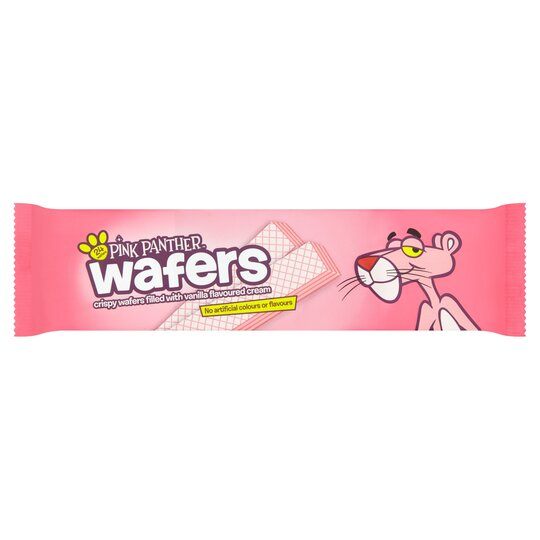 Pink Panther Wafers Vanilla 185g