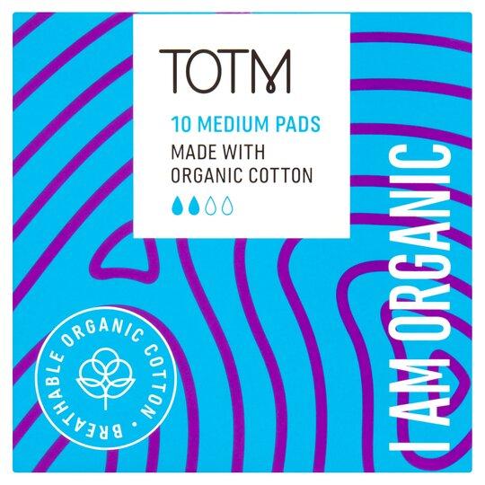 image 1 of Totm Organic Cotton Regular Pads 10S