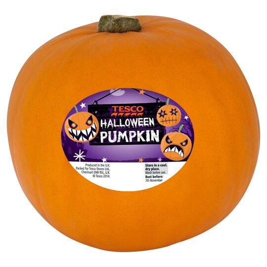 Tesco Pumpkin Each Tesco Groceries
