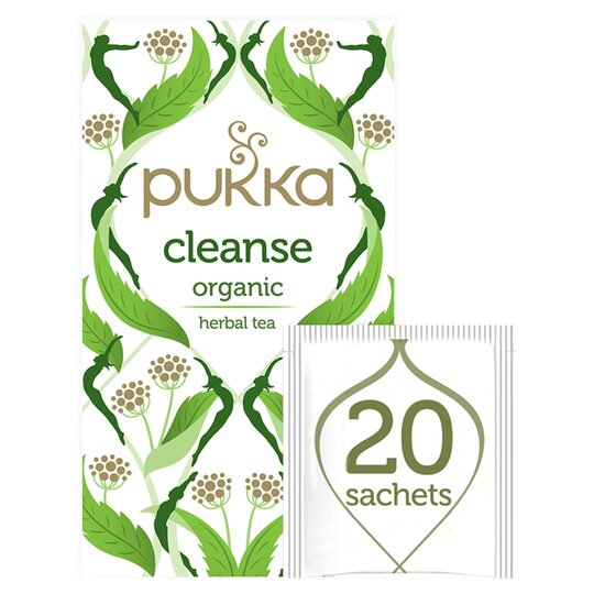 Pukka Organic Cleanse 20 Tea Bags 35G