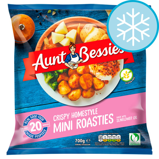 Aunt Bessie's Homestyle Mini Roasties 700G