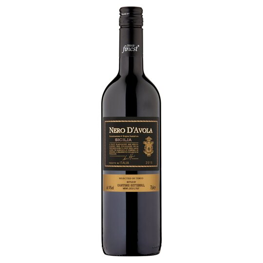 Tesco Finest Nero D'avola 75Cl