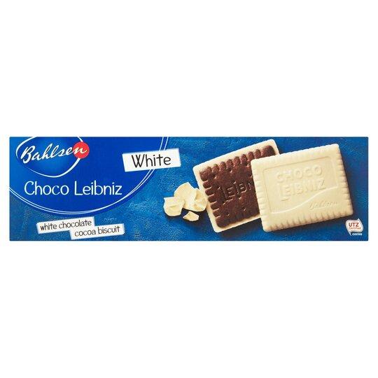 Bahlsen Choco Leibniz White Biscuits 125G