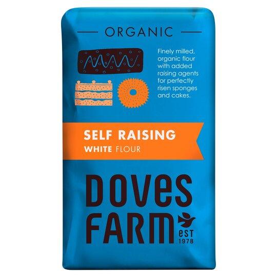 Doves Farm Organic White Self Raising Flour 1Kg