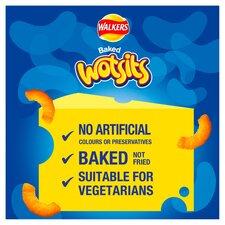 image 2 of Walkers Wotsits Flamin Hot Snacks 6 X 16G