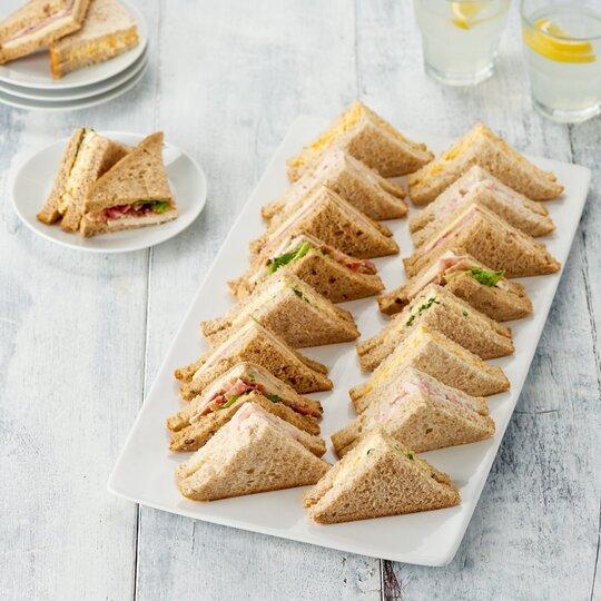 Teasy Entertain Classic Sandwich Platter 20 Piece
