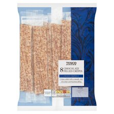 Tesco Chocolate Filled Crepes 8pk Tesco Groceries