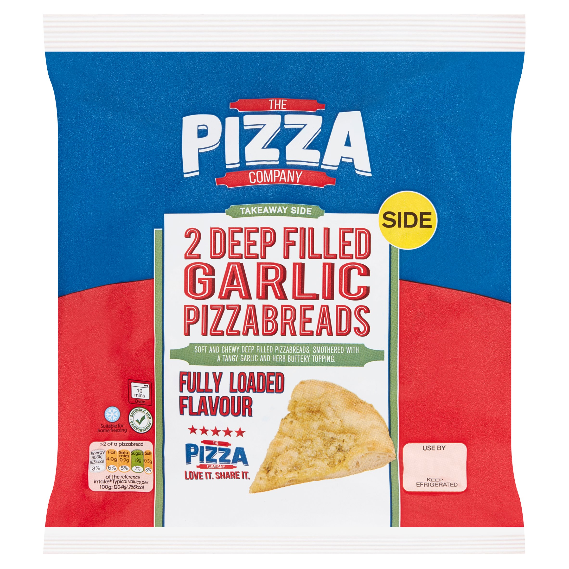 The Pizza Company Deep Filled Garlic Bread 2 Pack 230G
