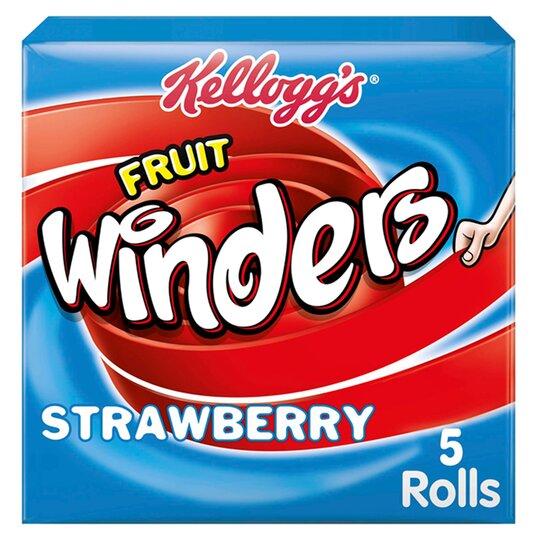 Kellogg's Fruit Winders Strawberry 5X17g
