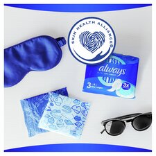 image 2 of Always Ultra Night Time Size 3 Sanitary Towels With Wings 24 Pack