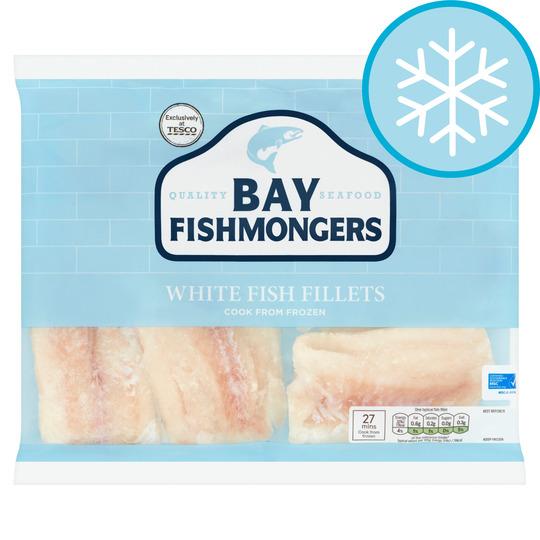 Bay Fishmongers White Fish Fillets 520g Tesco Groceries