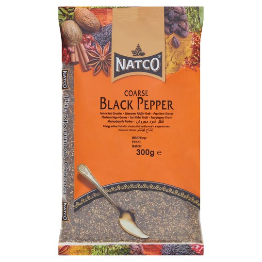 Natco Black Pepper Coarse 300G