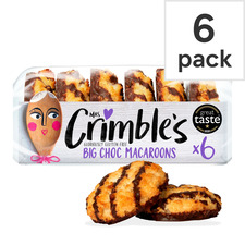 image 1 of Mrs Crimble's Chocolate Macaroons 6 Pack