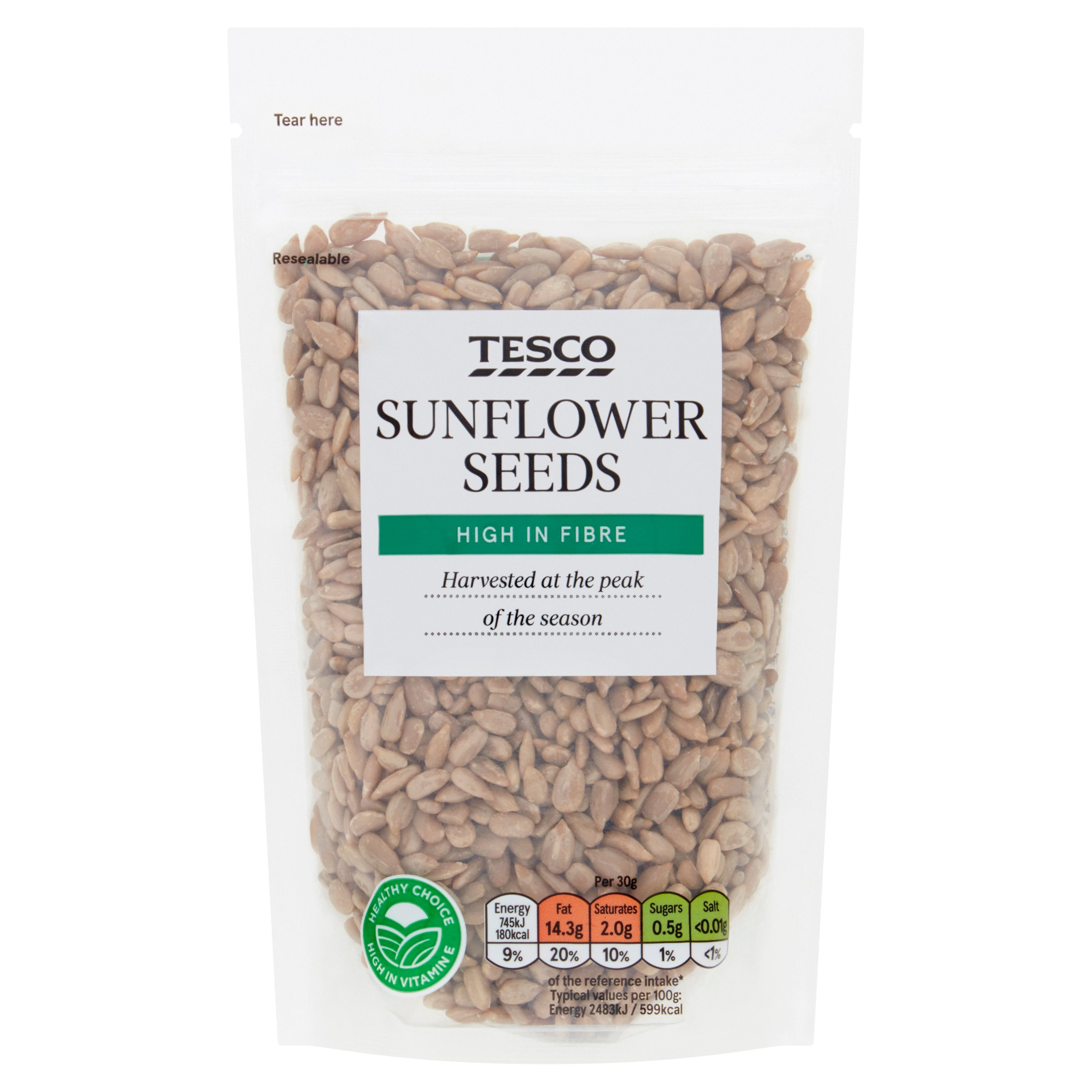 Tesco Sunflower Seeds 150G