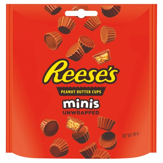 Reese's Peanut Butter Cups Minis Unwrapped 90G
