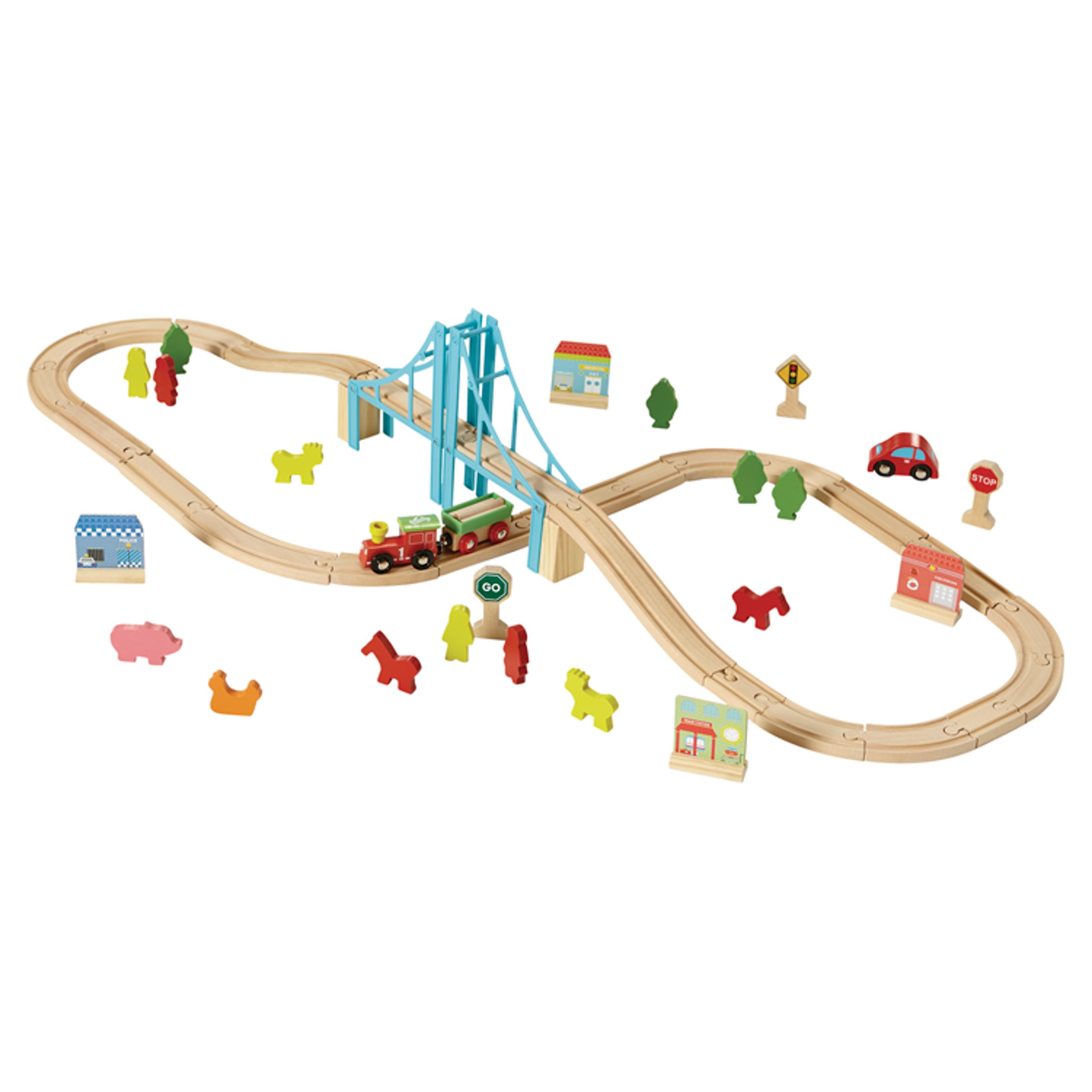 Carousel Train Set 60 Piece