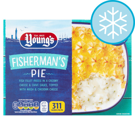 Youngs Fishermans Pie 300G