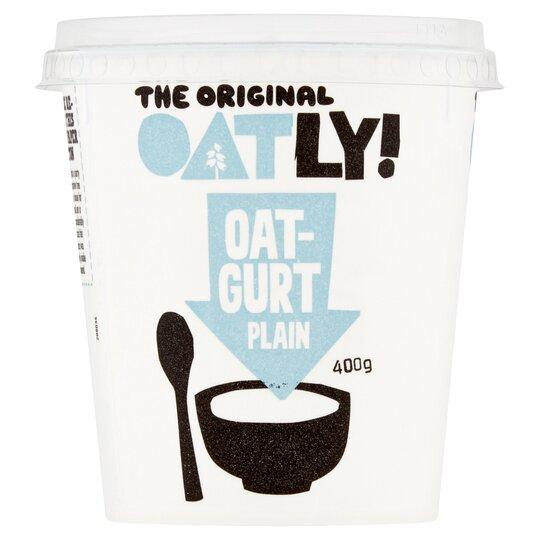 Oatly Plain Oatgurt 400G