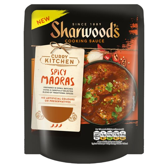 Sharwoods Spicy Madras Sauce 250G