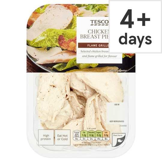 Tesco Ready To Eat Flamegrilled Chicken Chunks 180g Tesco Groceries