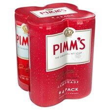 image 1 of Pimm's & Lemonade 4 X 250Ml