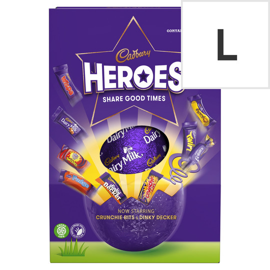 Cadbury Heroes Large Shell Egg 264G