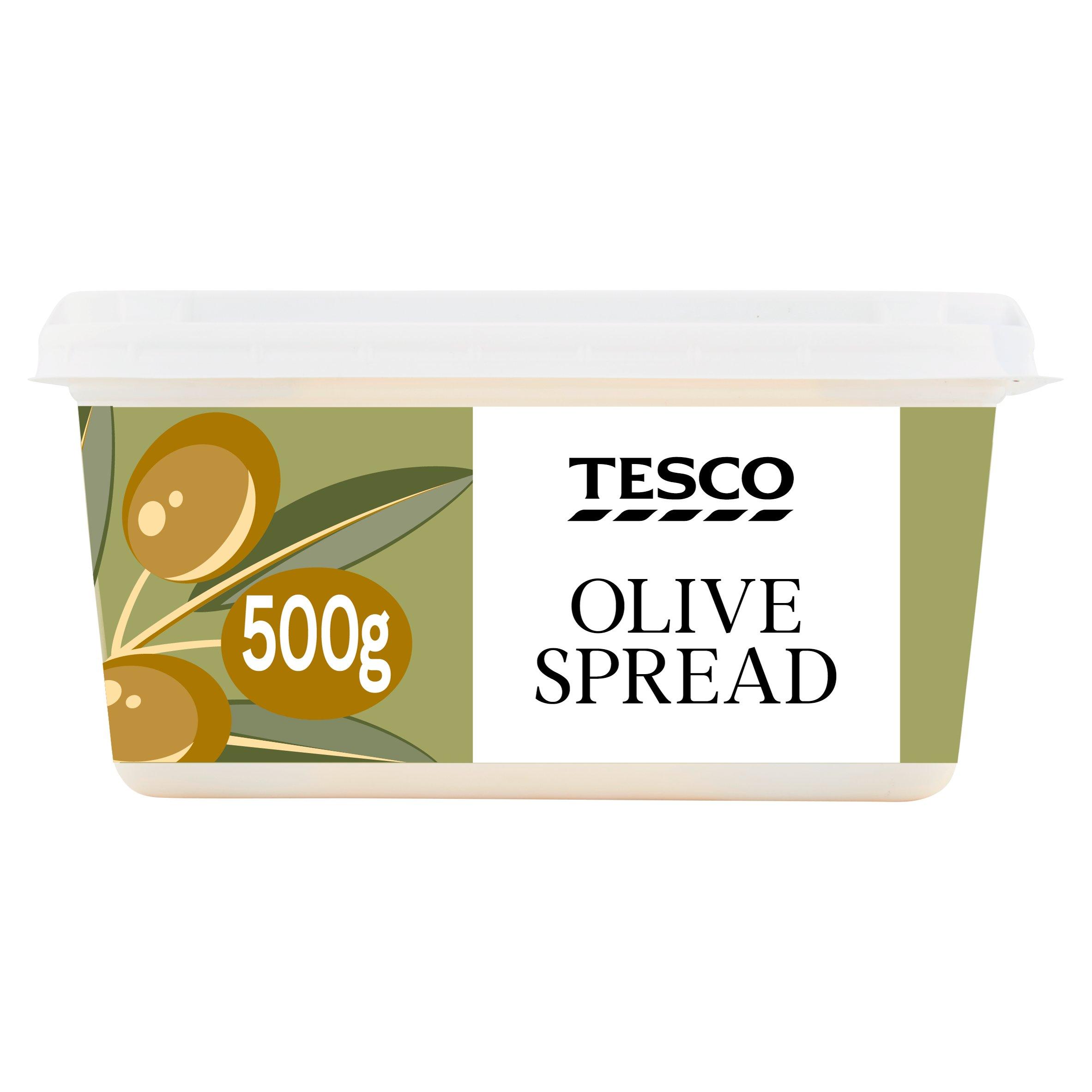 Tesco Olive Spread 500G