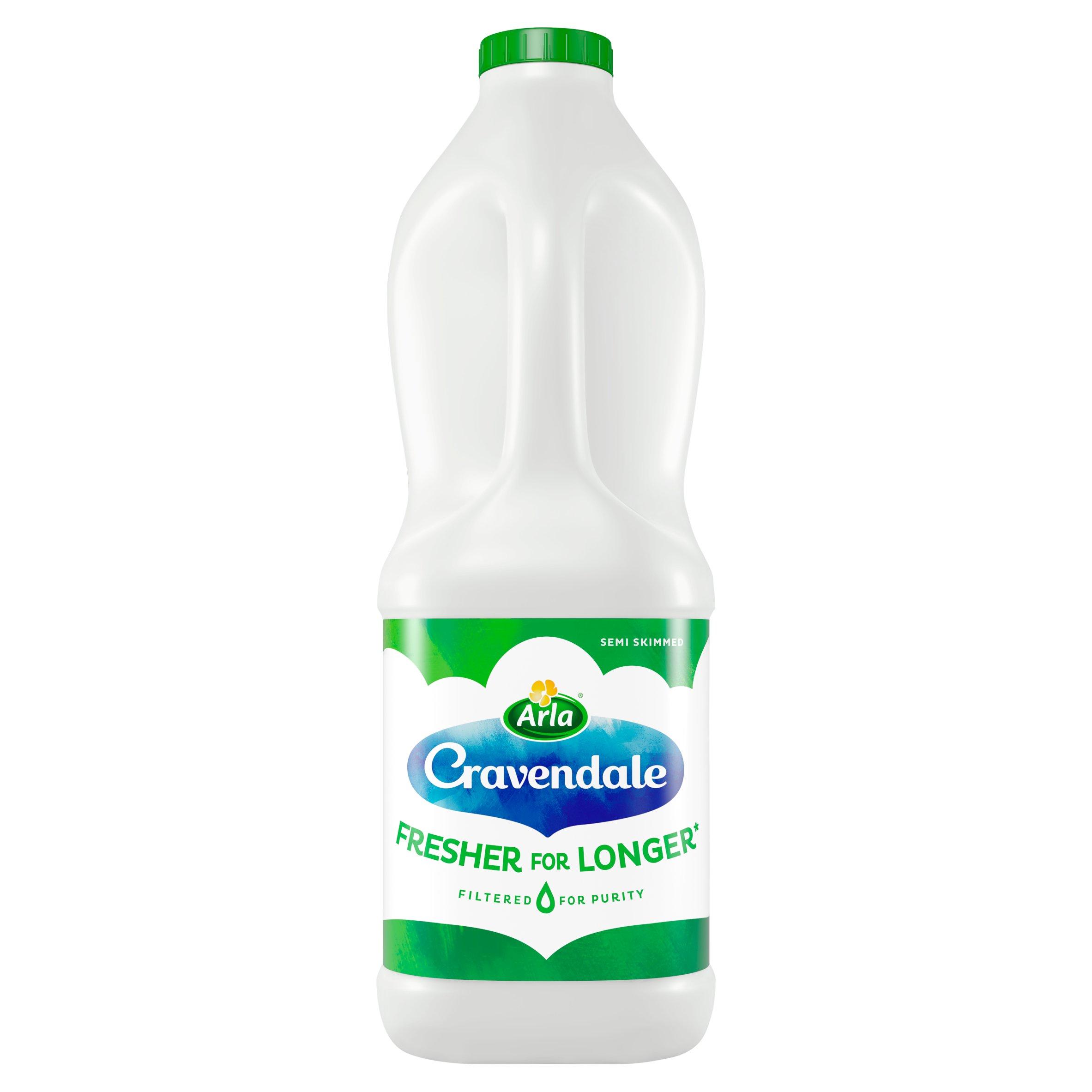 Cravendale Semi Skimmed Milk 2 Litre