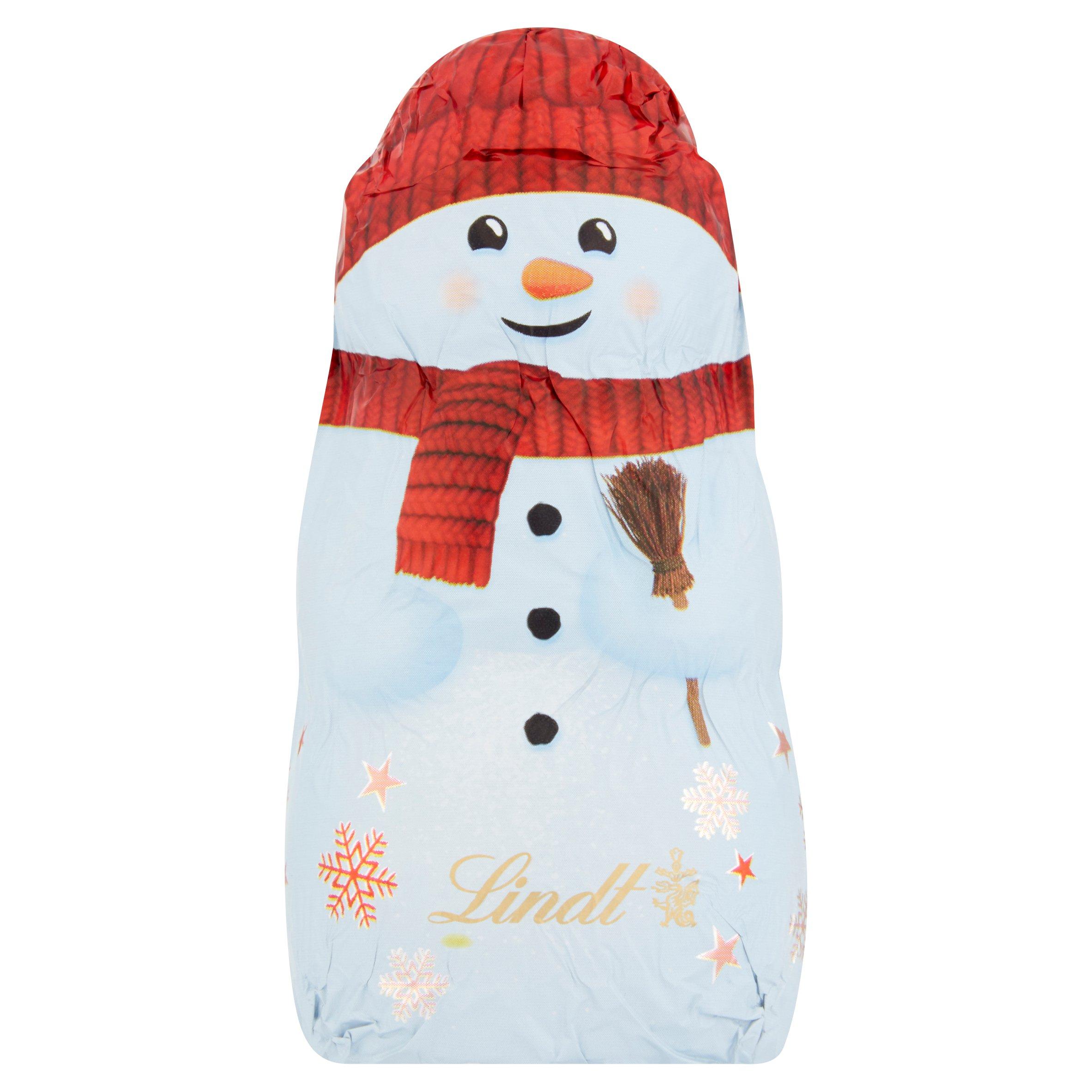 Lindt Milk Chocolate Snowman 40G